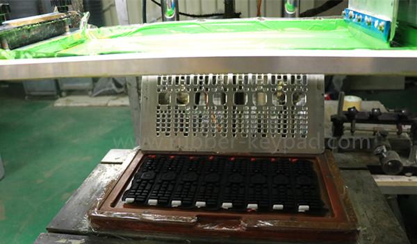 Siebdrucktastatur