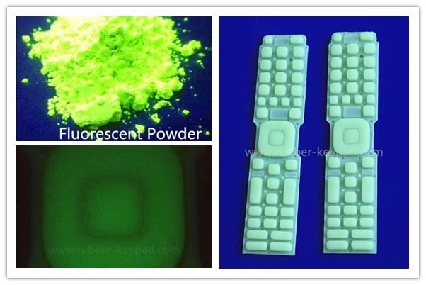 Fluoreszierende Tastatur