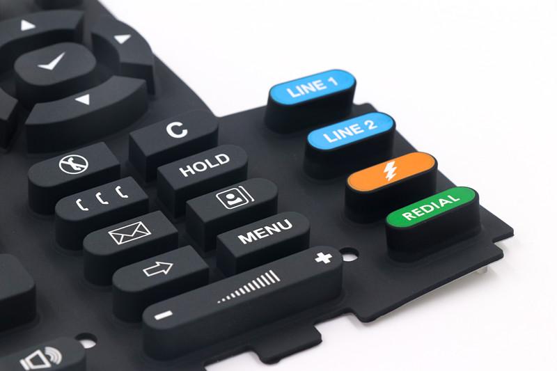 Silikonkautschuk-Tastatur