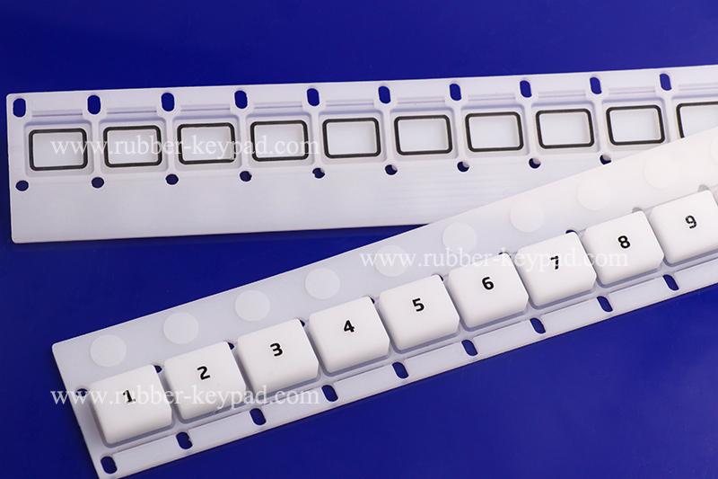 Gummitastatur für Siebdruck